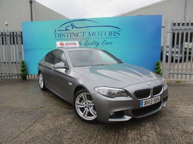 USED 2013 13 BMW 5 SERIES 2.0 520D M SPORT 4d 181 BHP