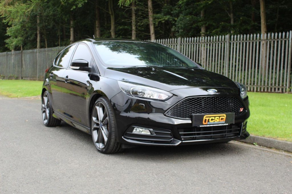USED 2017 17 FORD FOCUS 2.0 ST-3 TDCI 5d 183 BHP A LOW MILEAGE, HIGH SPECIFICATION DIESEL AUTOMATIC ST3 WITH FULL SERVICE HISTORY!!!