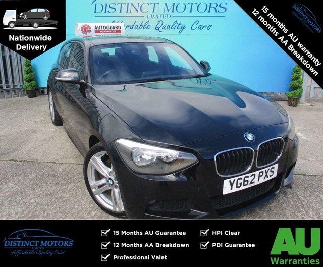 USED 2013 62 BMW 1 SERIES 1.6 116I M SPORT 5d 135 BHP