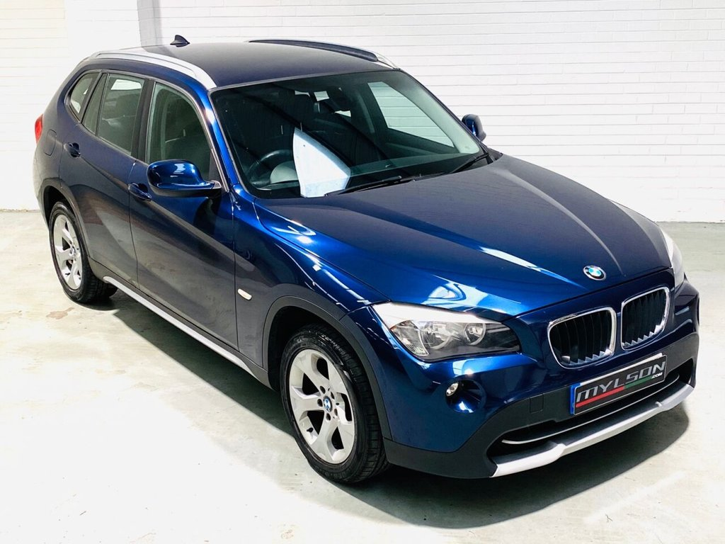 USED 2011 61 BMW X1 2.0 XDRIVE20D SE 5d 174 BHP Low Mileage Auto X1 with Full Black Leather Interior
