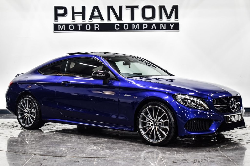 USED 2017 17 MERCEDES-BENZ C-CLASS 3.0 AMG C 43 4MATIC PREMIUM PLUS 2d 362 BHP