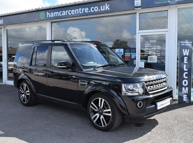2015 65 LAND ROVER DISCOVERY 4 3.0 SDV6 COMMERCIAL SE 255 BHP  5 SEATER