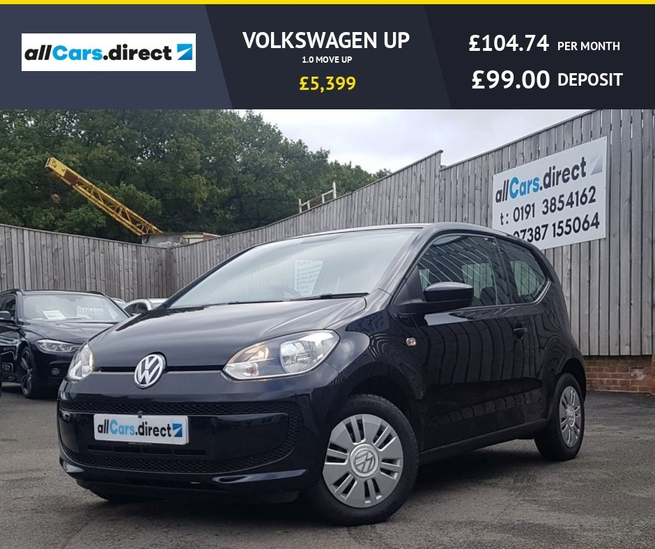 USED 2015 65 VOLKSWAGEN UP 1.0 MOVE UP