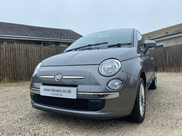 2012 12 FIAT 500 1.2 LOUNGE 3Dr 69 BHP PAN ROOF A/C