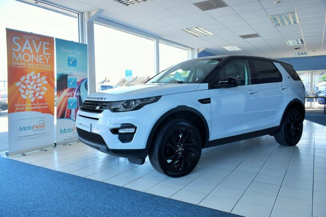 2017 66 LAND ROVER DISCOVERY SPORT 2.0 TD4 HSE BLACK 5d 180 BHP