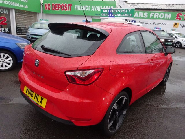 USED 2016 16 SEAT IBIZA 1.0 VISTA 3d 74 BHP **CLICK AND COLLECT ON YOUR NEXT CAR**