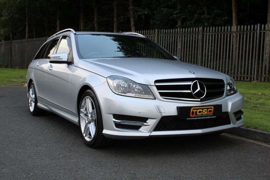 USED 2014 14 MERCEDES-BENZ C-CLASS 2.1 C220 CDI AMG SPORT EDITION 5d 168 BHP A LOW MILEAGE EXAMPLE IN VERY CLEAN CONDITION WITH SERVICE HISTORY!!!