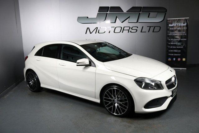 USED 2017 67 MERCEDES-BENZ A-CLASS LATE 2017 MERCEDES A180 CDI BLUEEFFICIENCY AMG LINE NIGHT EDITION STYLE 107BHP (FINANCE & WARRANTY)
