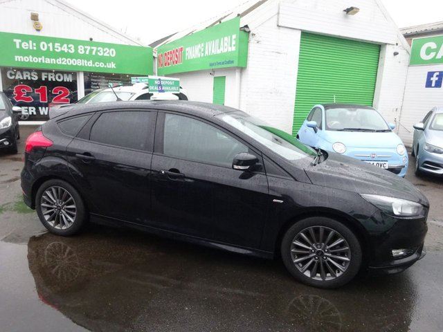 USED 2017 17 FORD FOCUS 1.0 ST-LINE 5d 124 BHP **AUTOMATIC ...JUST ARRIVED ... TEST DRIVE TODAY !!