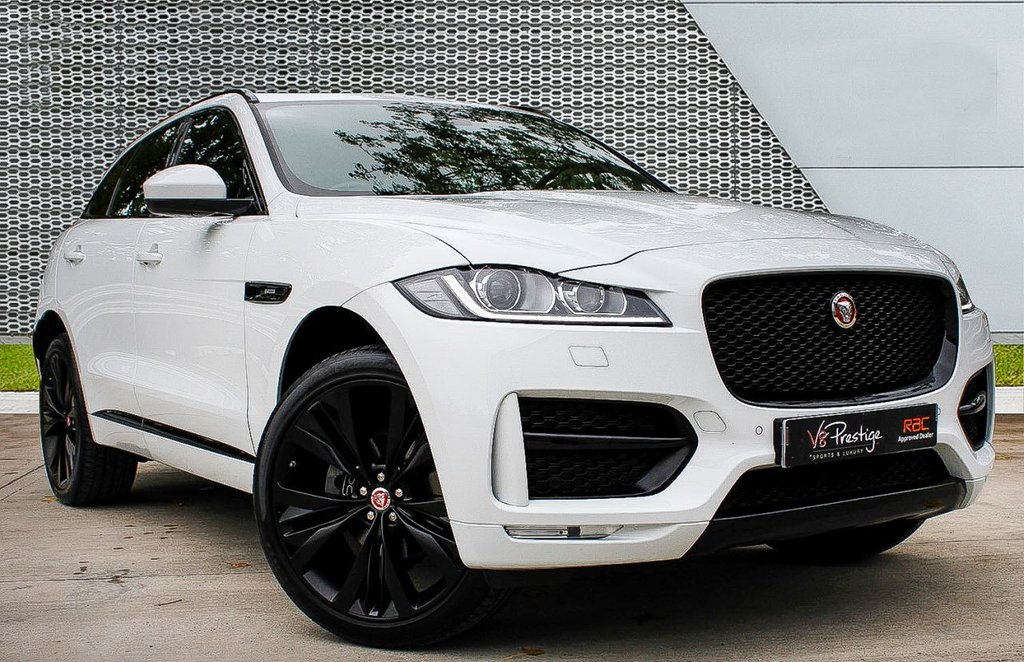 "USED 2018 68 JAGUAR F-PACE 2.0 R-SPORT AWD 5d 177 BHP **22""ALLOYS/ PAN ROOF/BLACK PACK**"