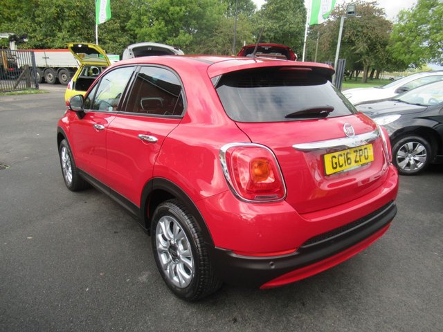 USED 2016 16 FIAT 500X 1.6 POP STAR 5d 110 BHP **CLICK AND COLLECT ON YOUR NEXT CAR**