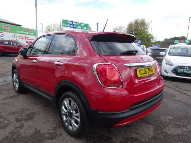 USED 2016 16 FIAT 500X 1.6 POP STAR 5d 110 BHP **  JUST ARRIVED ** CALL 01543 877320**6 MONTHS WARRANTY**