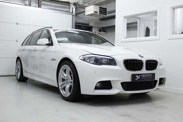 2012 12 BMW 5 SERIES 2.0 520D M SPORT TOURING 5d 181 BHP