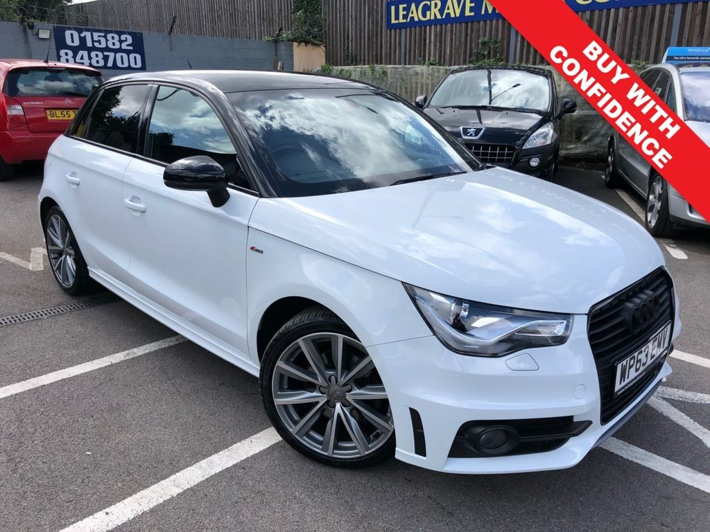 USED 2013 63 AUDI A1 1.4 SPORTBACK TFSI S LINE STYLE EDITION 5d 121 BHP SAT NAV + PARKING SENSORS