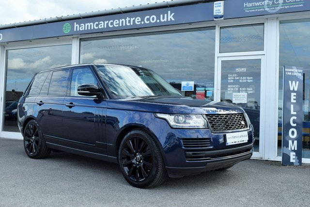 2015 15 LAND ROVER RANGE ROVER 4.4 SDV8 VOGUE 5d 339 BHP BLACK STYLING PACK