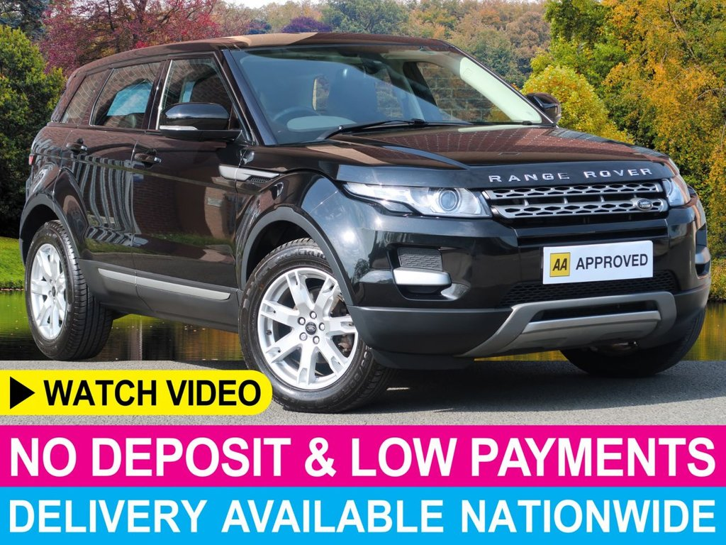 USED 2013 13 LAND ROVER RANGE ROVER EVOQUE 2.2 SD4 Pure 4WD 5dr Full Leather Park Control 4WD