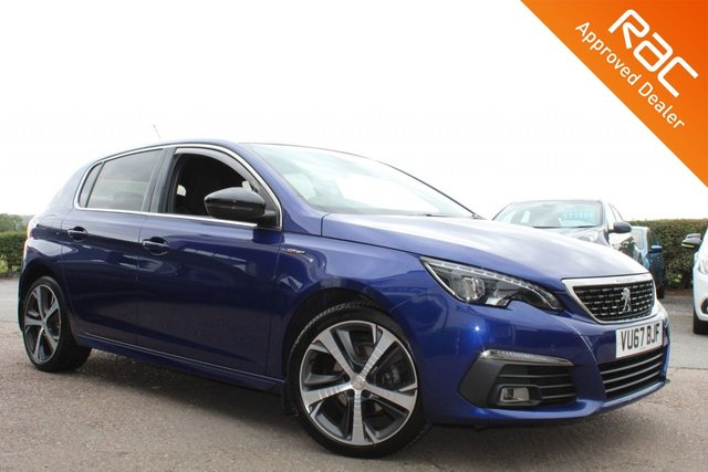 USED 2017 67 PEUGEOT 308 1.6 BLUE HDI S/S GT LINE 5d 120 BHP VIEW AND RESERVE ONLINE OR CALL 01527-853940 FOR MORE INFO.
