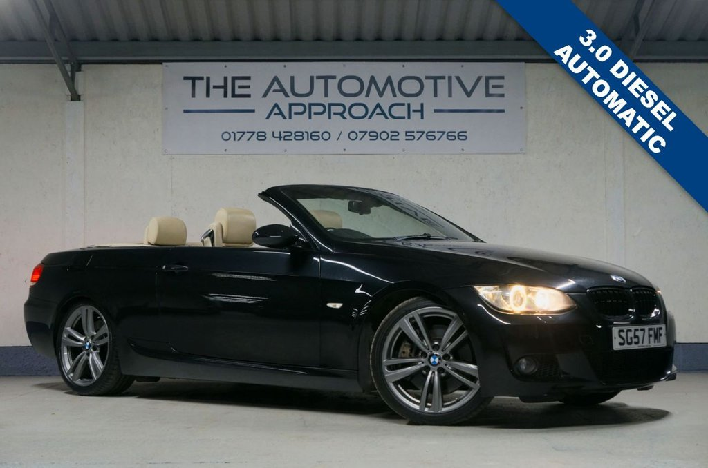USED 2007 57 BMW 3 SERIES 3.0 330D M SPORT 2d 228 BHP * UPGRADED 19 INCH ALLOYS *