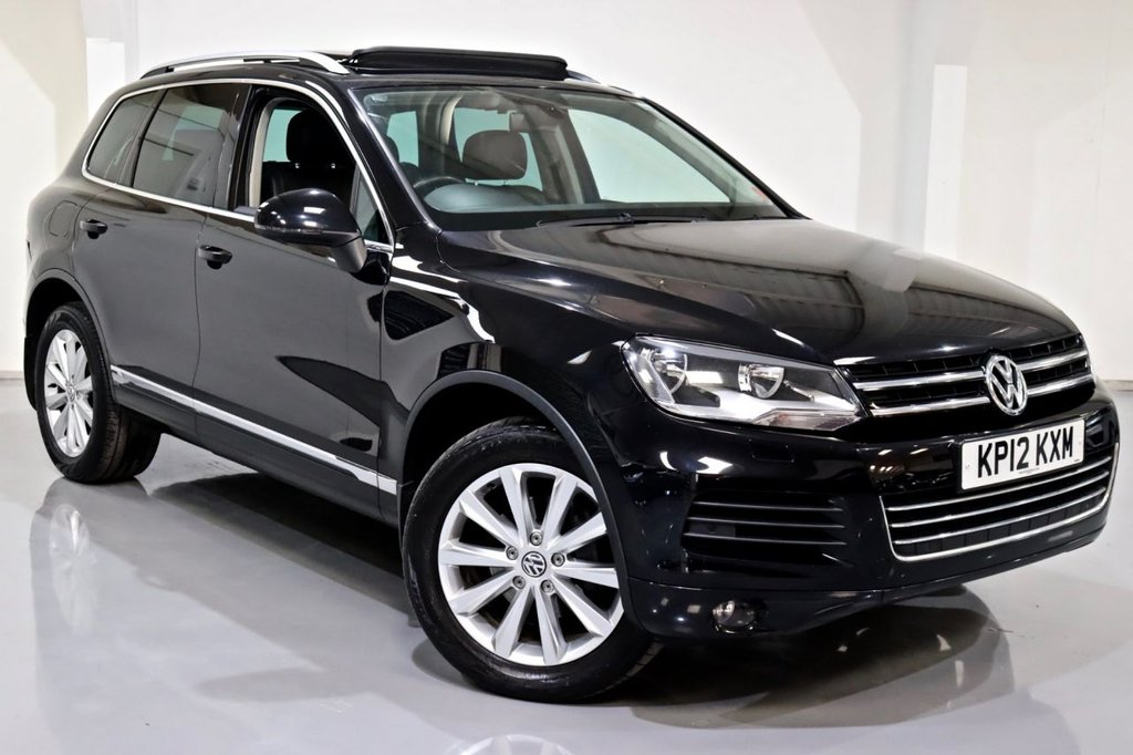USED 2012 12 VOLKSWAGEN TOUAREG 3.0 V6 SE TDI BLUEMOTION TECHNOLOGY 5d 242 BHP
