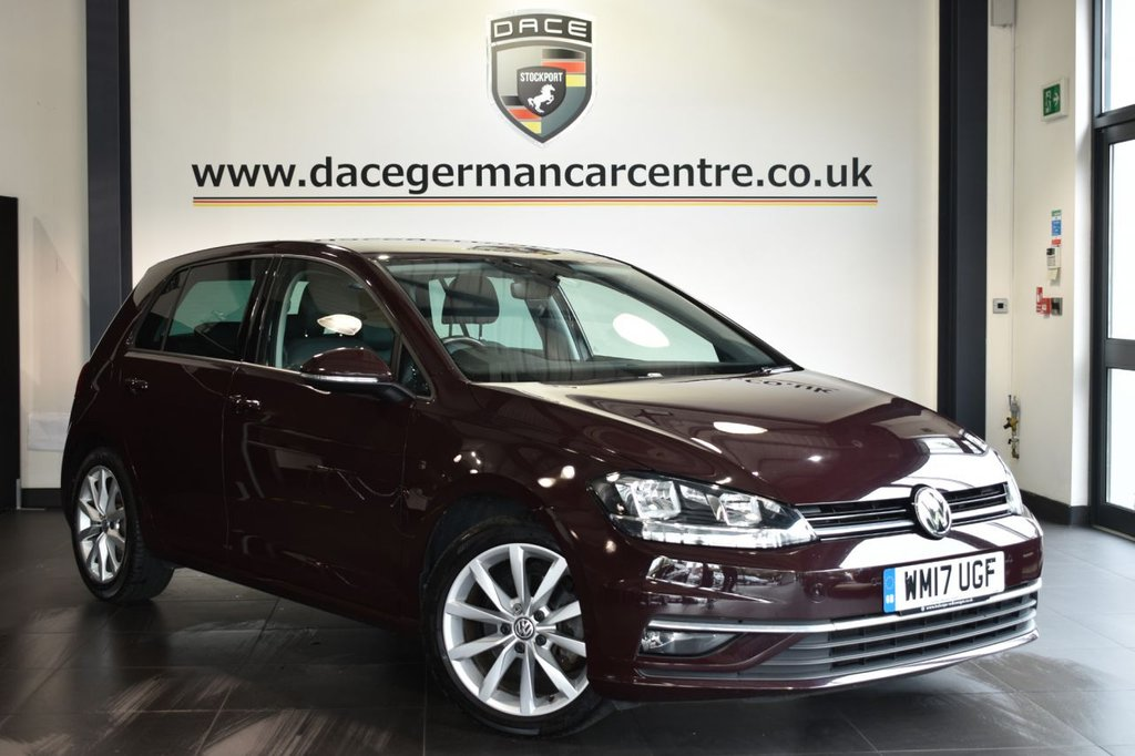 USED 2017 17 VOLKSWAGEN GOLF 2.0 GT TDI BLUEMOTION TECHNOLOGY DSG 5DR AUTO 148 BHP Finished in a stunning black styled with alloys. Upon opening the drivers door you are presented with full leather interior, full service history, satellite navigation, bluetooth, heated seats, dab radio, climate control, heated mirrors, parking sensors