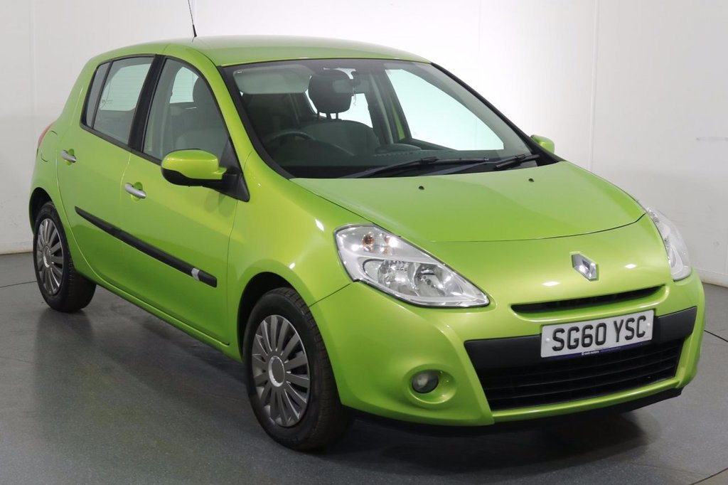 USED 2010 60 RENAULT CLIO 1.1 EXPRESSION 16V 5d 74 BHP