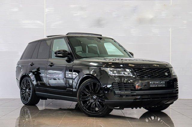 USED 2020 69 LAND ROVER RANGE ROVER Land Rover Range Rover 3.0 SD V6 Westminster Black Auto 4WD (s/s) 5dr