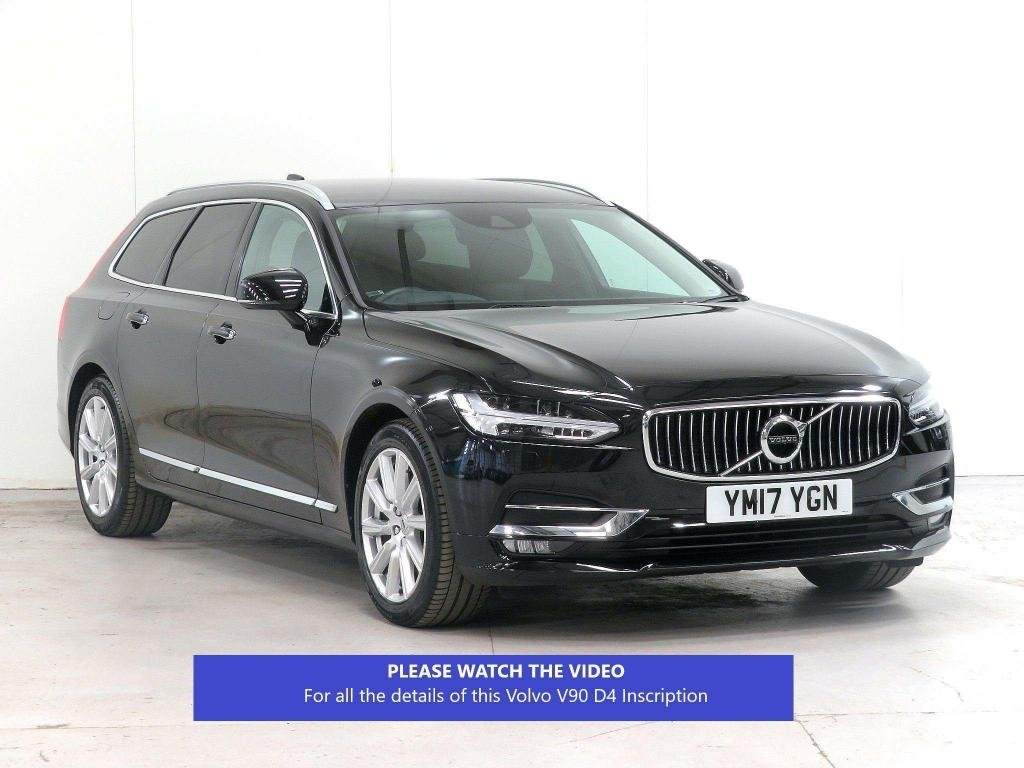 USED 2017 17 VOLVO V90 2.0 D4 Inscription Auto (s/s) 5dr 7,600 MILES!!*WINTER PACK*VATQ