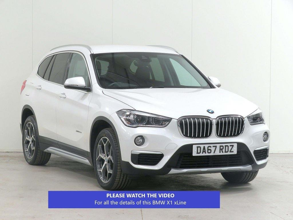 USED 2017 67 BMW X1 2.0 18d xLine Auto xDrive (s/s) 5dr £3195 EXTRA*PARK-ASSIST*CAMERA