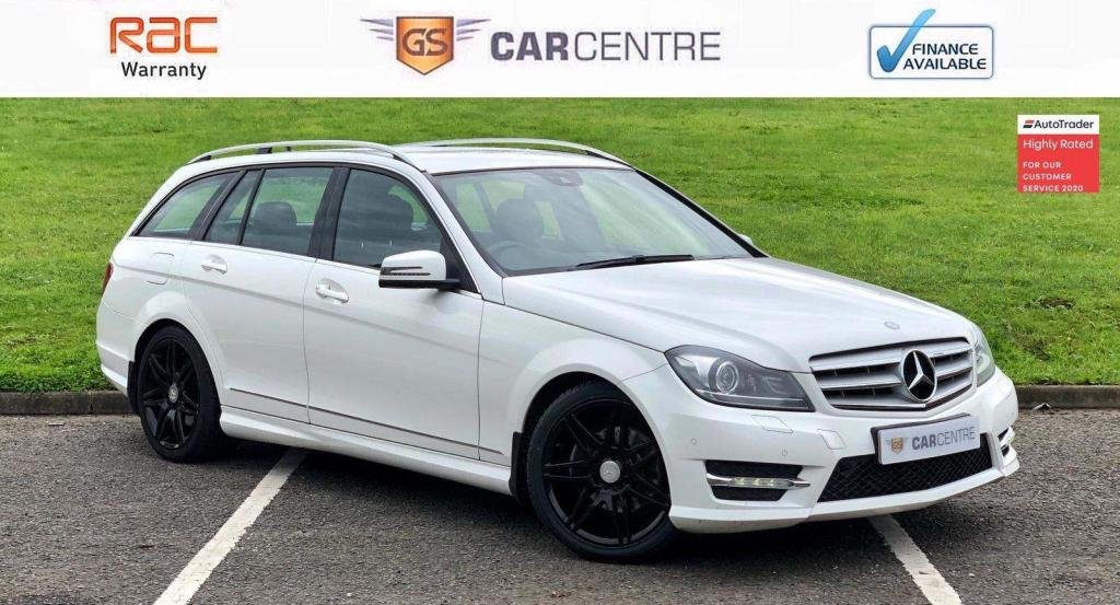 USED 2013 63 MERCEDES-BENZ C-CLASS 2.1 C250 CDI AMG Sport Plus 7G-Tronic Plus 5dr Sat Nav + Cruise + Sensors