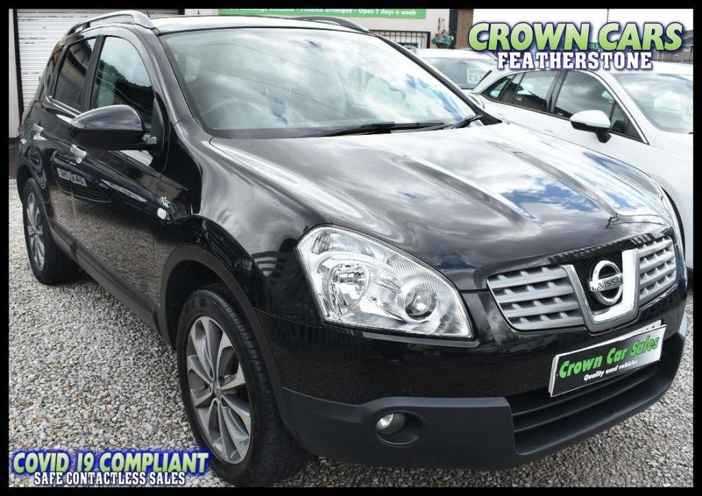 USED 2009 59 NISSAN QASHQAI 2.0 n-tec CVT 4WD 5dr AMAZING LOW RATE FINANCE DEALS