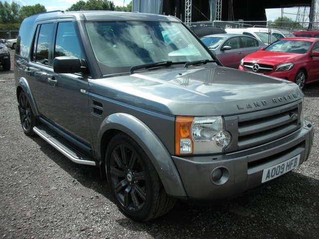 2009 09 LAND ROVER DISCOVERY 2.7 3 TDV6 XS 5d 188 BHP