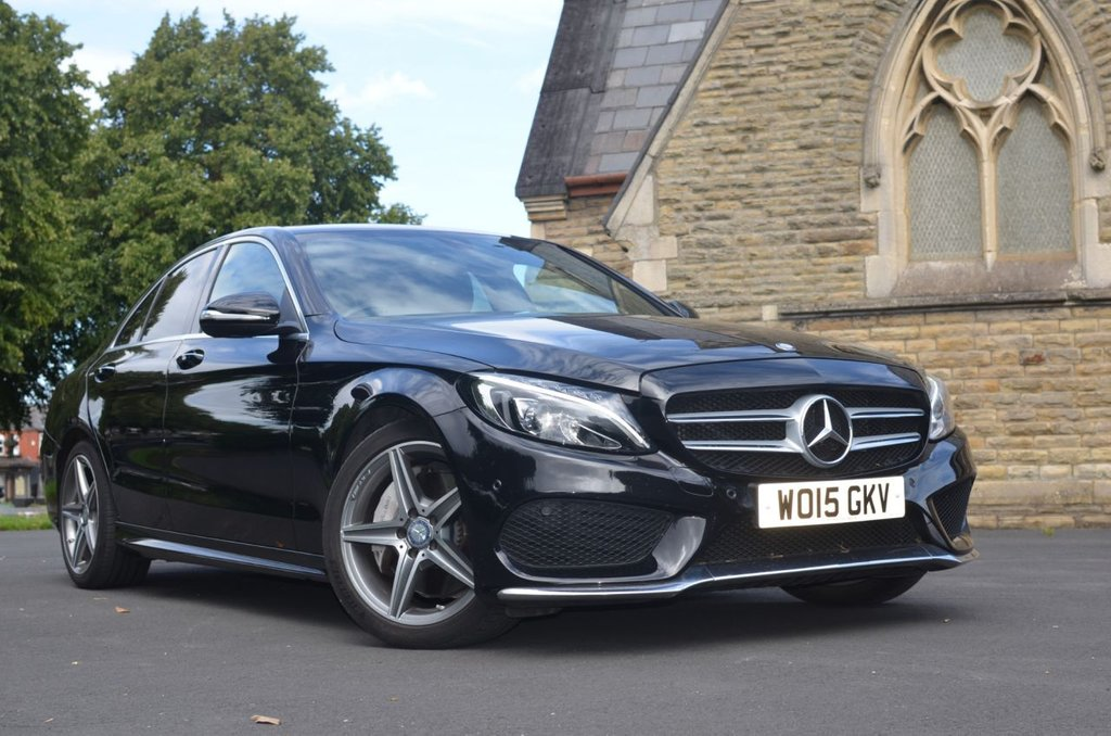 USED 2015 15 MERCEDES-BENZ C-CLASS 2.1 C250 BLUETEC AMG LINE PREMIUM 4d 204 BHP Buy Online. Nationwide Delivery
