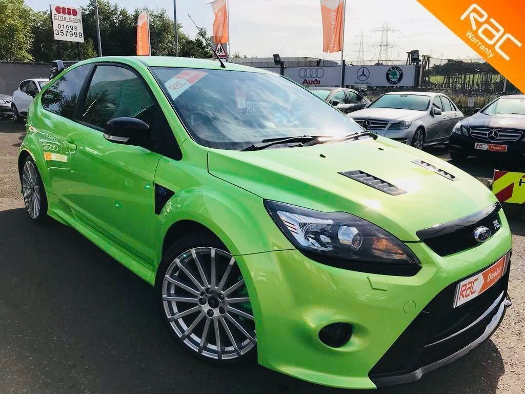 USED 2011 11 FORD FOCUS 2.5 RS 3d 300 BHP Ultimate Green!!!!!