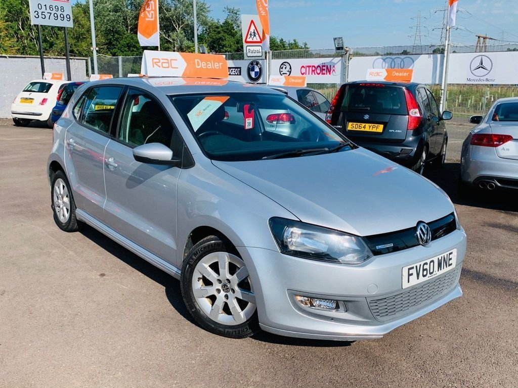 USED 2010 60 VOLKSWAGEN POLO 1.2 BLUEMOTION TDI 5d 74 BHP Drive away today
