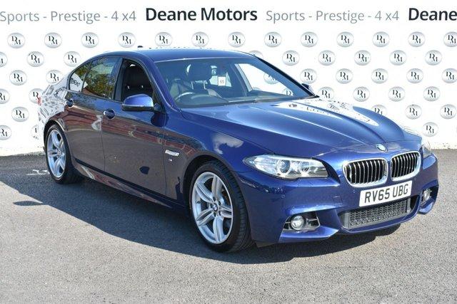 2015 65 BMW 5 SERIES 2.0 520D M SPORT 4d 188 BHP M SPORT PLUS PK