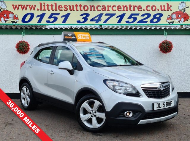 USED 2015 15 VAUXHALL MOKKA 1.6 EXCLUSIV S/S 5d 114 BHP TOP SPEC, FULL HISTORY, 2 OWNERS, FINANCE AVAILABLE, 36,000 MILES