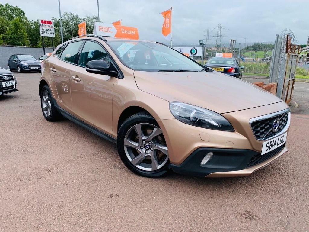USED 2014 14 VOLVO V40 1.6 D2 CROSS COUNTRY LUX 5d 113 BHP Drive away today..Zero tax