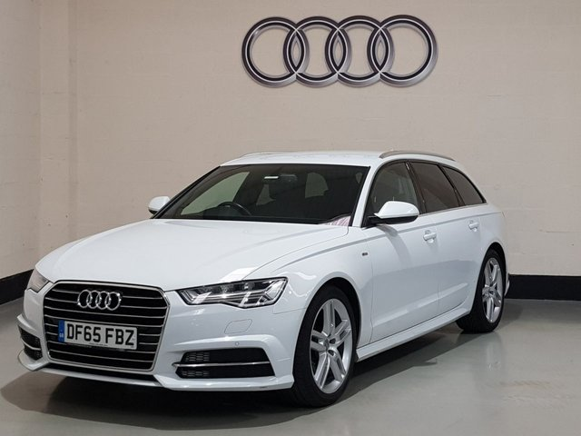 USED 2015 65 AUDI A6 2.0 AVANT TDI ULTRA S LINE 5d 188 BHP 1 Owner /Heated Leather/Sat-Nav/Power Boot/Park Sensors