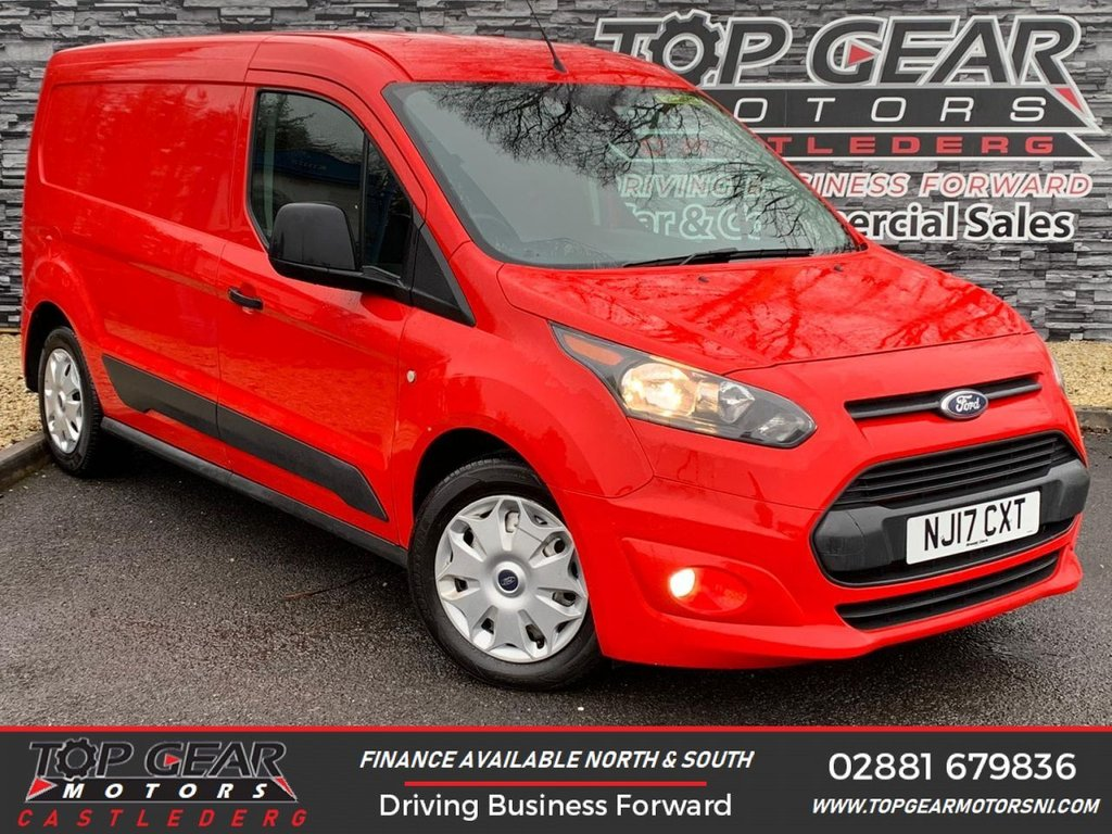 USED 2017 17 FORD TRANSIT CONNECT 200 TREND L2 1.5 TDCI 100 BHP **OVER 100 VEHICLES IN STOCK** ** A/C, HEATED WINDSCREEN, PLY LINED, FRONT AND REAR FOGS**