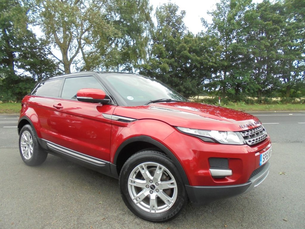 USED 2011 61 LAND ROVER RANGE ROVER EVOQUE 2.2 SD4 PURE 3d 190 BHP
