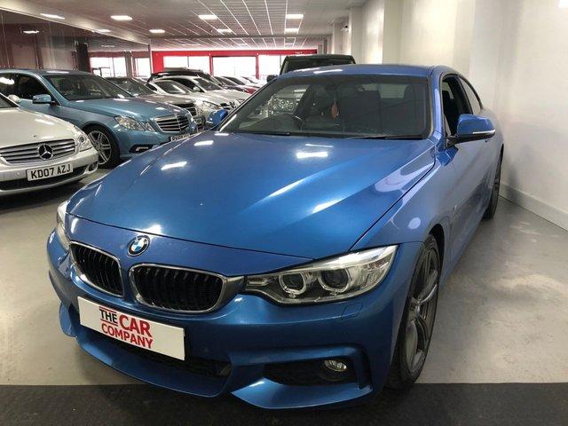 2014 14 BMW 4 SERIES 2.0 420D M SPORT 2d 181 BHP