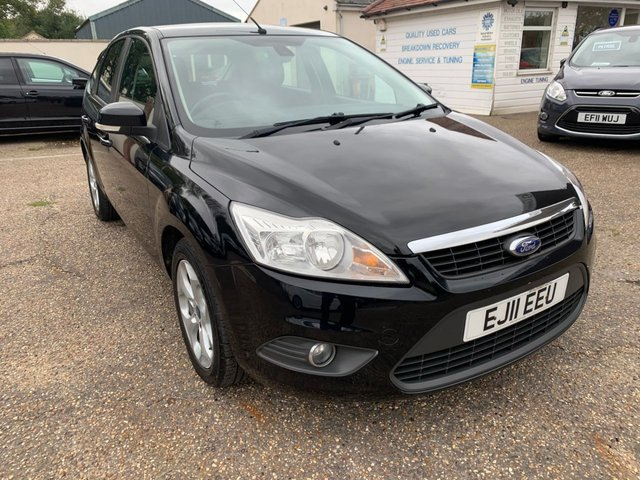 USED 2011 11 FORD FOCUS 1.6 SPORT 5d 99 BHP FULL SERVICE HISTORY / SAT NAV / VOICE COMMS