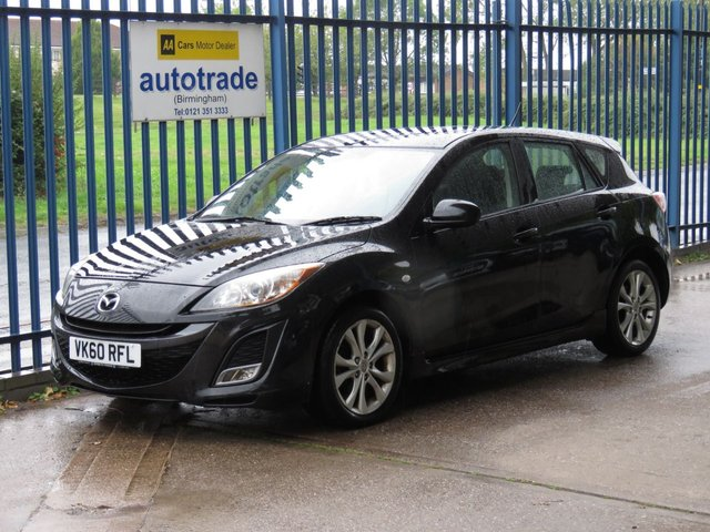 USED 2010 60 MAZDA 3 1.6 TAKUYA 5dr 105 ulez compliant Cruise Heated seats Bluetooth Alloys Park sensors Fogs Finance arranged Part exchange available Open 7 days ULEX Compliant