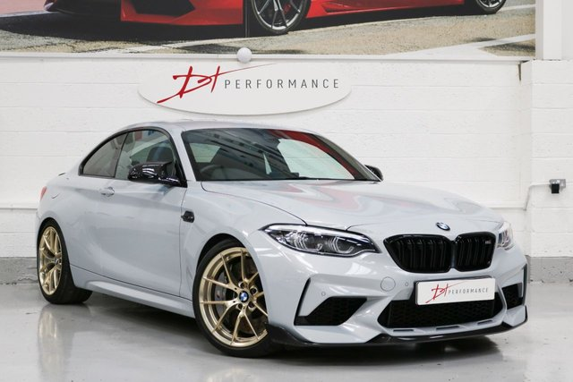 2019 19 BMW M2 3.0 M2 COMPETITION 2d FACTORY BIG BRAKES