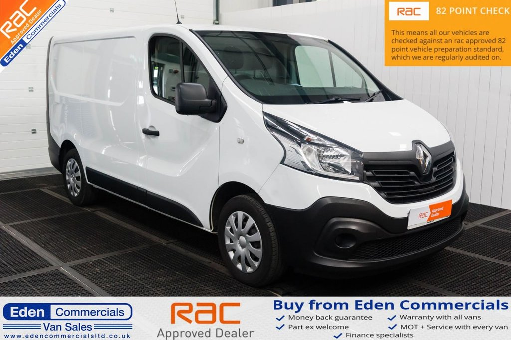 USED 2016 16 RENAULT TRAFIC 1.6 SL27 BUSINESS ENERGY DCI