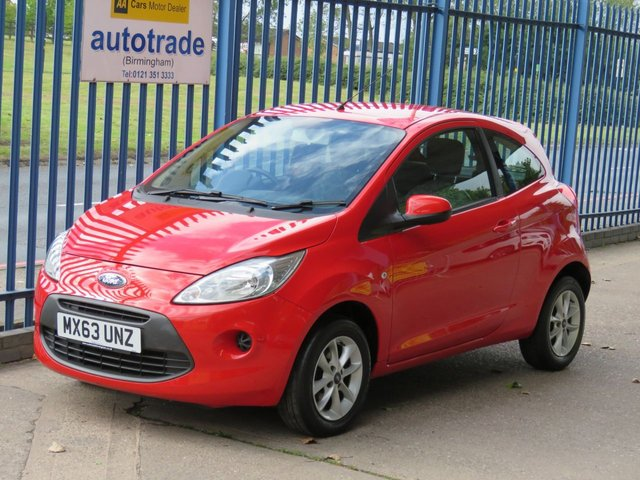 USED 2013 63 FORD KA 1.2 EDGE 3dr 69 Air con Alloys Electric windows  Finance arranged Part exchange available Open 7 days ULEX Compliant