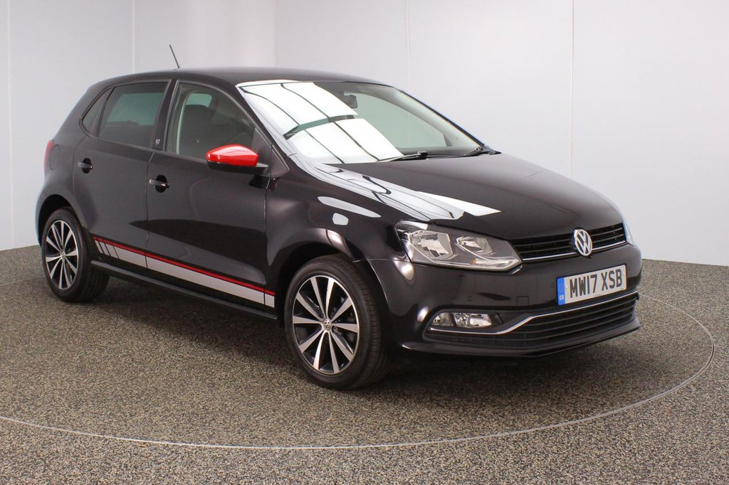 USED 2017 17 VOLKSWAGEN POLO 1.2 BEATS TSI 5DR 1 OWNER 89 BHP FULL SERVICE HISTORY + HALF LEATHER SEATS + PARKING SENSOR + BEATS AUDIO SYSTEM + BLUETOOTH + CRUISE CONTROL + MULTI FUNCTION WHEEL + AIR CONDITIONING + PRIVACY GLASS + DAB RADIO + AUX/USB/SD PORTS + ELECTRIC WINDOWS + ELECTRIC DOOR MIRRORS + 16 INCH ALLOY WHEELS