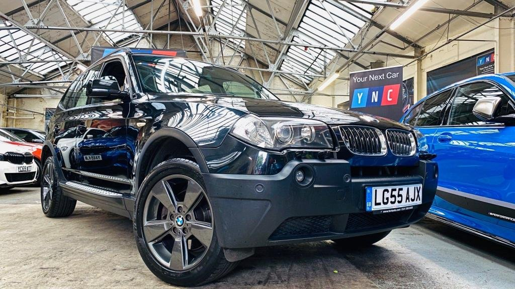 USED 2005 55 BMW X3 3.0 i Sport 5dr PANROOF+HTDLTHR+18S