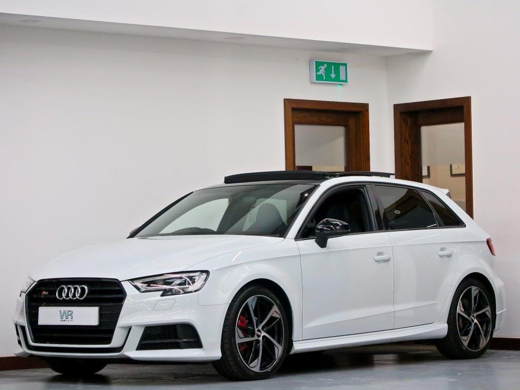 USED 2019 68 AUDI S3 2.0 TFSI Black Edition Sportback S Tronic quattro (s/s) 5dr PAN ROOF +VIRTUAL CP +SS SEATS
