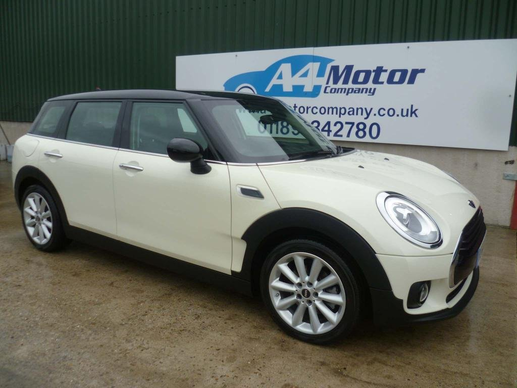 USED 2016 66 MINI CLUBMAN 2.0 Cooper D (s/s) 6dr £30 TAX, FULL HISTORY, WHITE!